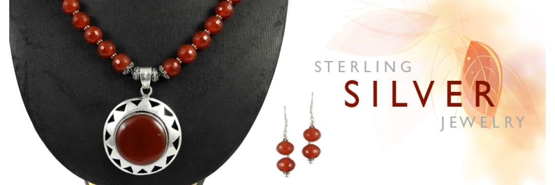 Cut & Cab Stone 3 Piece Jewelry Sets