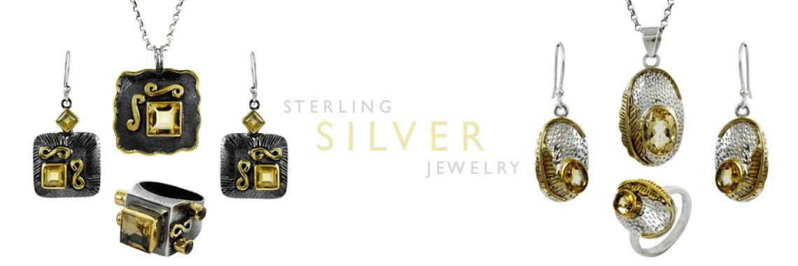 Cut Stone 4 Piece Jewelry Sets