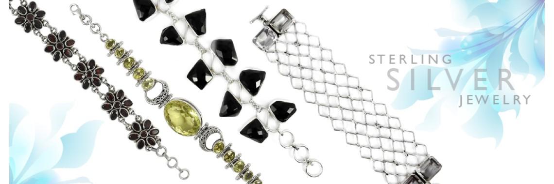 Cut Stone Bracelets