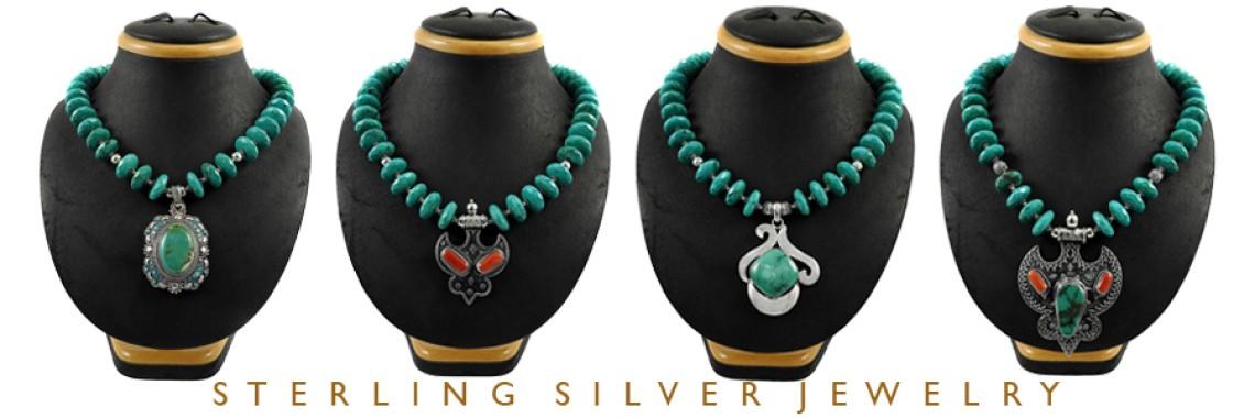Cut & Cab Stone Necklaces
