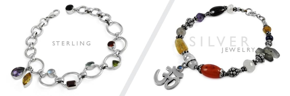 Cut & Cab Stone Bracelets