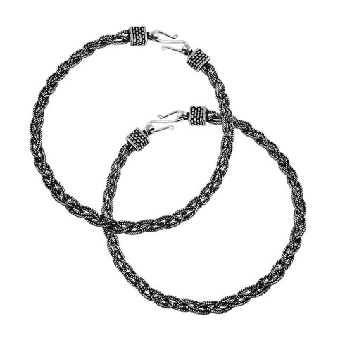 Amazing Design !! 925 Sterling Silver Anklets