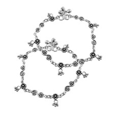 Stylish Design !! 925 Sterling Silver Anklets
