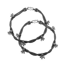 Mystic Princess !! 925 Sterling Silver Anklets