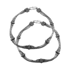 Spell !! 925 Sterling Silver Anklets