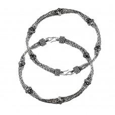 Slylish 925 Sterling Silver Anklets