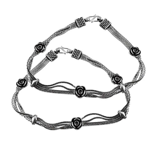 Classy Style!! 925 Sterling Silver Anklets