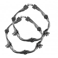 Royal Style!! 925 Sterling Silver Anklets