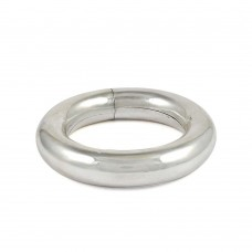 New Exclusive Style! Handmade 925 Sterling Silver Bangle