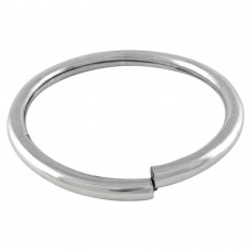Large Fashion! Handmade 925 Sterling Silver Bangle