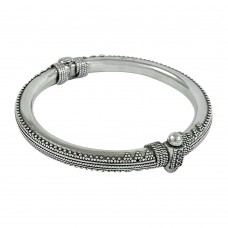 Classic 925 Sterling Silver Bangle 925 Sterling Silver Fashion Jewellery