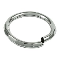 Engaging 925 Sterling Silver Hollow Bangle Handmade Silver Jewellery