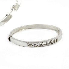 925 sterling silver fashion Jewellery Ethnic 925 Sterling Silver Bangle