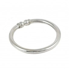 Large Fashion!! Solid 925 Sterling Silver Bangle