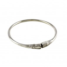 925 Sterling Silver Fashion Jewellery Ethnic Sterling Silver Bangle