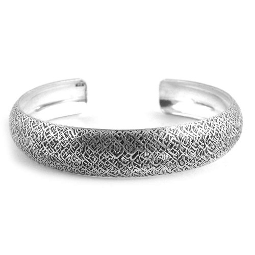 Kiss!! 925 Silver Bangle Wholesale