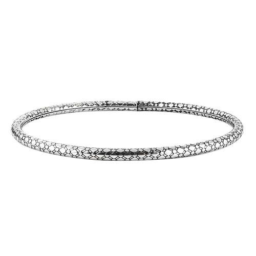 Royal Style 925 Sterling Silver Bangle