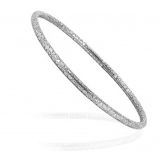 Tropical Glow! 925 Silver Bangle Wholesale
