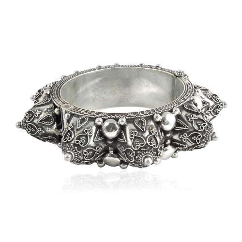 Large Fashion!! 925 Sterling Silver Bangle
