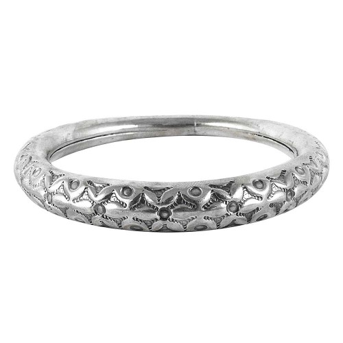 Semi Precious 925 Sterling Silver Bangle