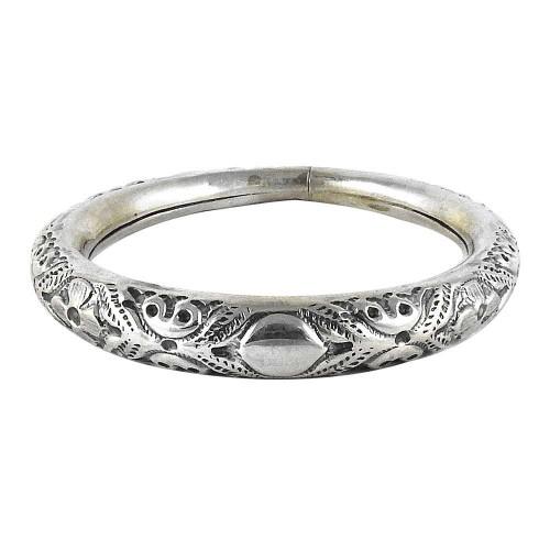Lady Elegance 925 Sterling Silver Bangle