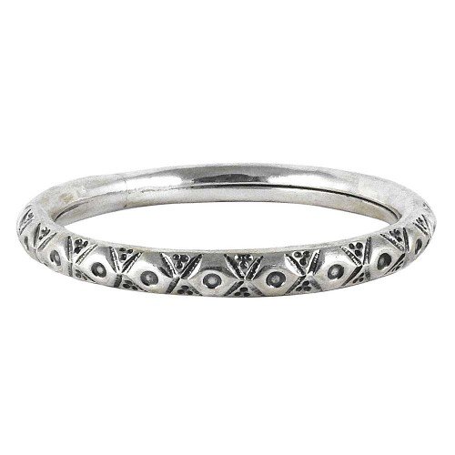 Big Grand Love !! 925 Sterling Silver Bangle