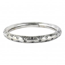 Big New Awesome !! 925 Sterling Silver Bangle