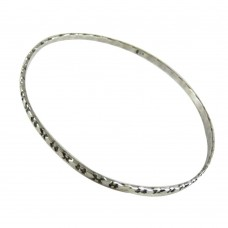 Huge Modern Style!! Handmade 925 Sterling Silver Bangle