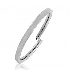 Gorgeous !! 925 Sterling Silver Bangle