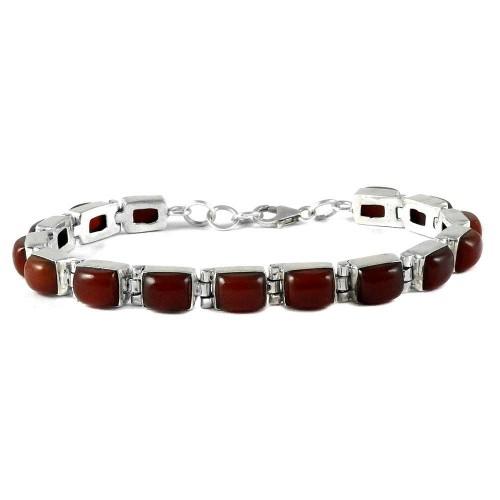 My Sweet !! Carnelian 925 Sterling Silver Bracelet