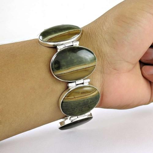 New Fashion Design !! 925 Sterling Silver Bracelet