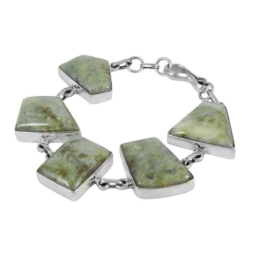 Best Design Gemstone Sterling Silver Bracelet Jewelry