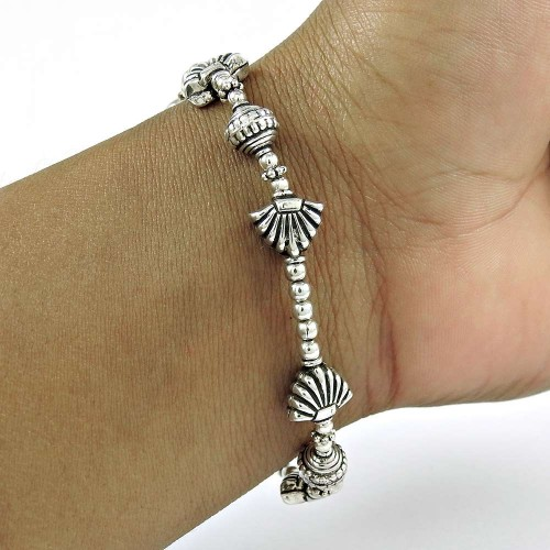 Sightly 925 Sterling Silver Bracelet Vintage Jewelry
