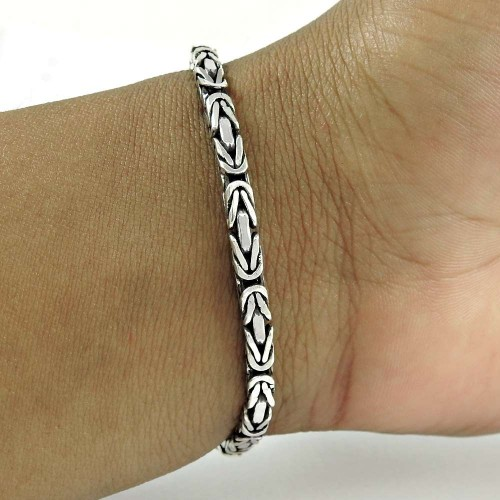 Perfect 925 Sterling Silver Bracelet Jewelry