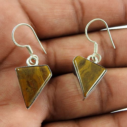 925 sterling silver antique Jewellery Charming Mookaite Earrings De gros