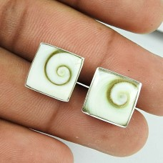 Rare Shiva Eye Sterling Silver Stud Earrings 925 Sterling Silver Fashion Jewellery