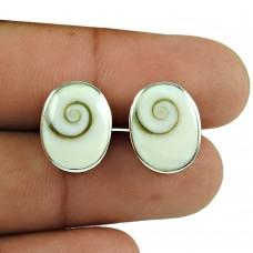 Seemly Shiva Eye Sterling Silver Stud Earrings 925 Silver Jewellery