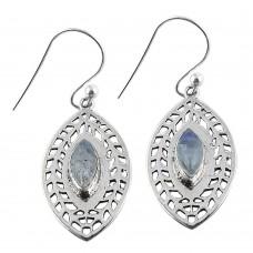 Spell!! 925 Sterling Silver Rainbow Moonstone Earrings Hersteller