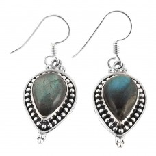 Lovely!! 925 Sterling Silver Labradorite Earrings Hersteller