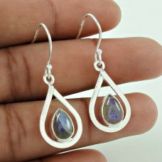 Captivating ! Labradorite Gemstone Silver Jewellery Earrings Großhändler
