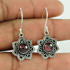 A Secret Garnet Earrings Gemstone Sterling Silver Jewellery Wholesale