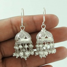 Big Royal ! 925 Sterling Silver Pearl Earrings Wholesale
