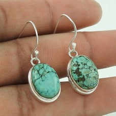 Soigne ! Turquoise Gemstone Silver Jewellery Earrings Fournisseur