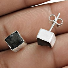 Lava Gemstone Earring 925 Sterling Silver Traditional Jewelry