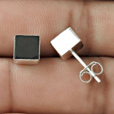 Lava Gemstone Earring 925 Sterling Silver Women Gift Jewelry