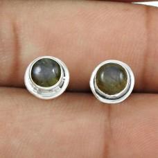 Labradorite Gemstone Earring 925 Sterling Silver Ethnic Jewelry ER52