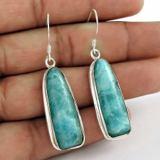 925 Sterling Silver Indian Jewellery Beautiful Blue Rhodochrosite Gemstone Earrings Proveedor