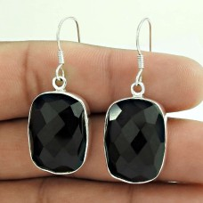 Awesome!! 925 Sterling Silver Black Onyx Earrings Wholesale