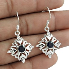 Maya Freedom! 925 Sterling Silver Iolite Earrings Supplier