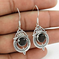 Kiss! 925 Sterling Silver Smoky Quartz Earrings Fournisseur